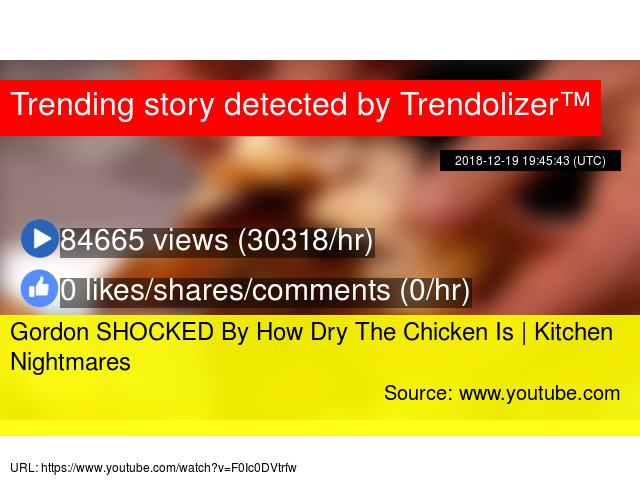 Gordon SHOCKED By How Dry The Chicken Is | Kitchen Nightmares