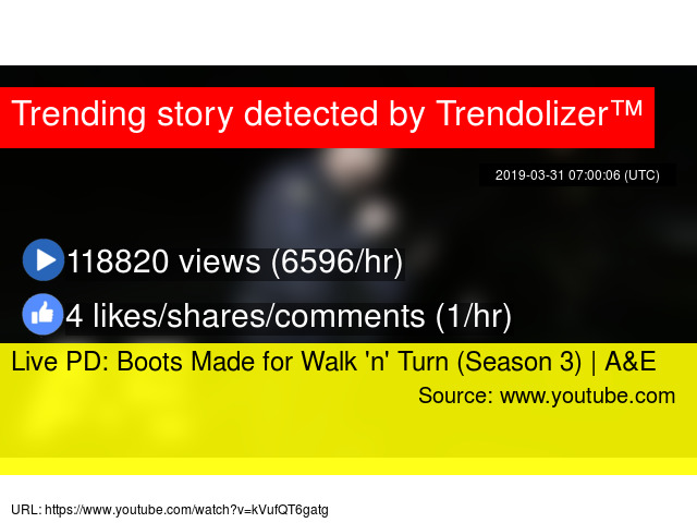 Live PD: Boots Made for Walk 'n' Turn (Season 3) | A&E