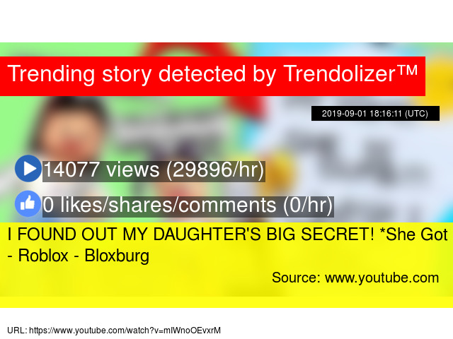 I Found Out My Daughter S Big Secret She Got Exposed Roblox