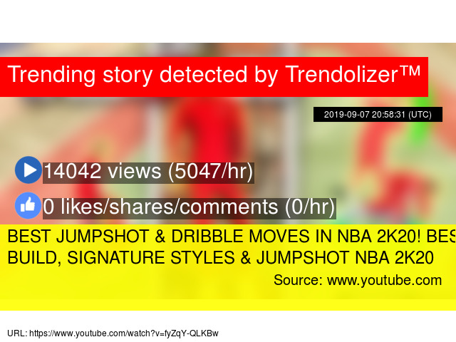 BEST JUMPSHOT & DRIBBLE MOVES IN NBA 2K20! BEST DEMIGOD